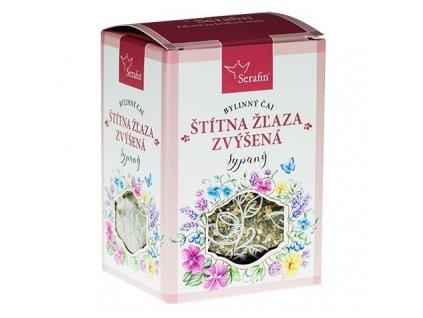 štítna žľaza zvýšená - sypaný bylinný čaj serafin