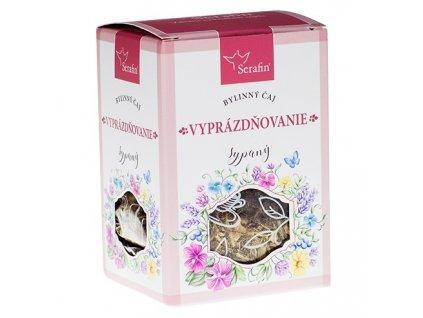 vyprázdňovanie - sypaný bylinný čaj serafin
