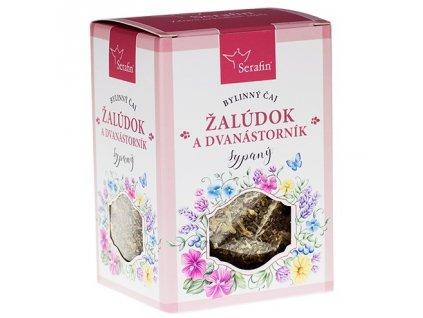 žalúdok a dvanástorník - sypaný bylinný čaj serafin
