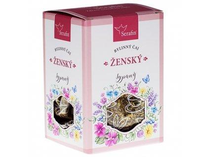 ženský  - sypaný bylinný čaj serafin