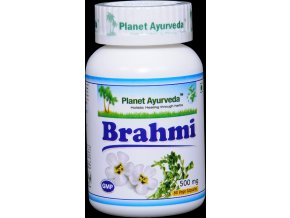Brahmi Kapsuly Planet Ayurveda 500mg