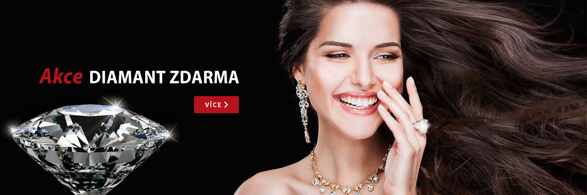 Zlatnictví Brandýs AKCE diamant zdarma