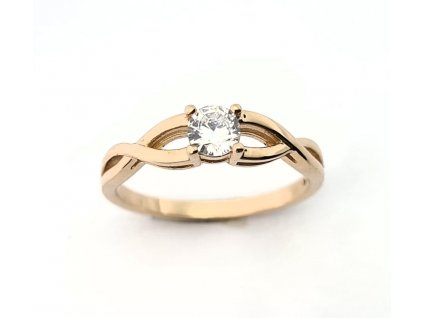 zasnubni prsten ruzove