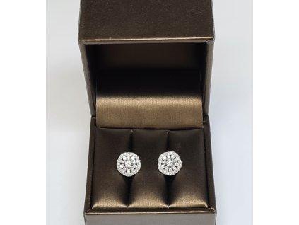Diamantové náušnice Muscat