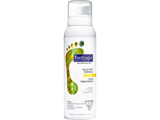 Footlogix Cold Feet Formula (4) - pena pre studené nohy, 125 ml