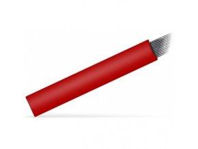 swiss micro blades 12 flexi cepielka na tetovanie 018 mm 25 ks box