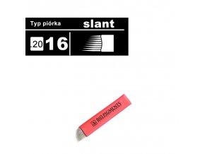 needle for microblading slant 16 thickness 020 bio pigments permanent makeup