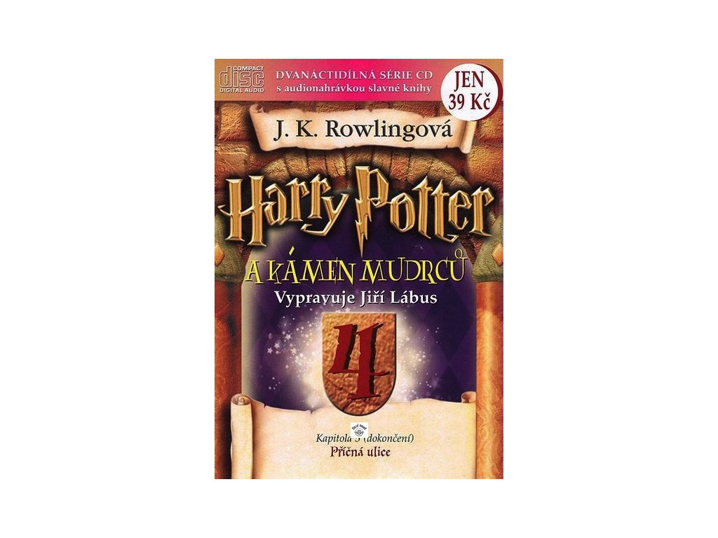CD-HARRY POTTER A KÁMEN MUDRCŮ 4.