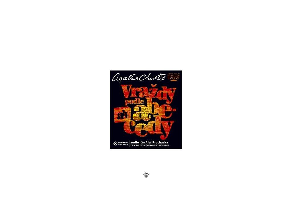 CD-VRAŽDY PODLE ABECEDY (6 CD)