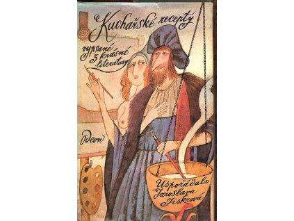 KUCHAŘSKÉ RECEPTY VYPSANÉ Z KRÁSNÉ LITERATURY