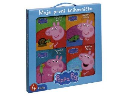 PEPPA PIG - MOJE PRVNÍ KNIHOVNIČKA
