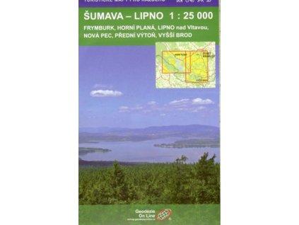 ŠUMAVA - LIPNO 1:25 000