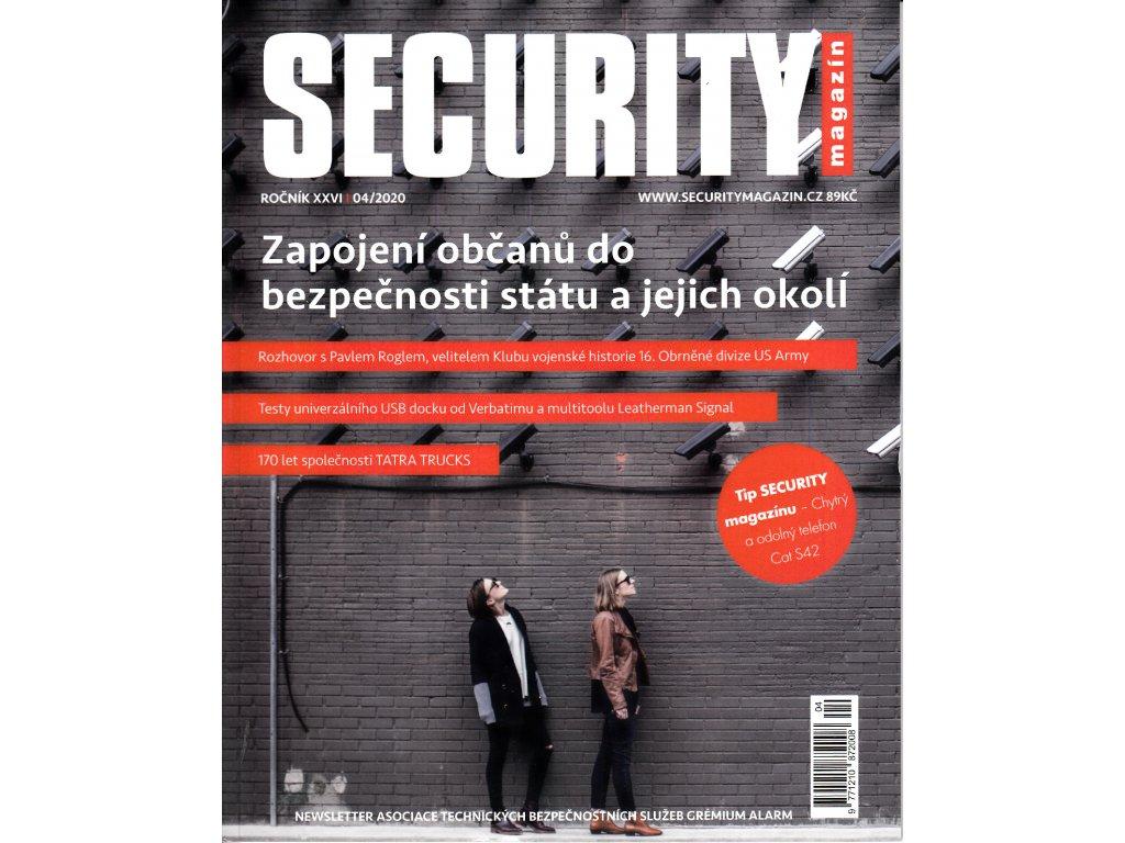 Security magazín 042020
