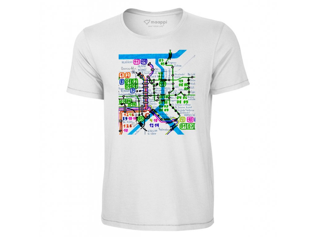 T-shirt CITY EDITION - Ostrava