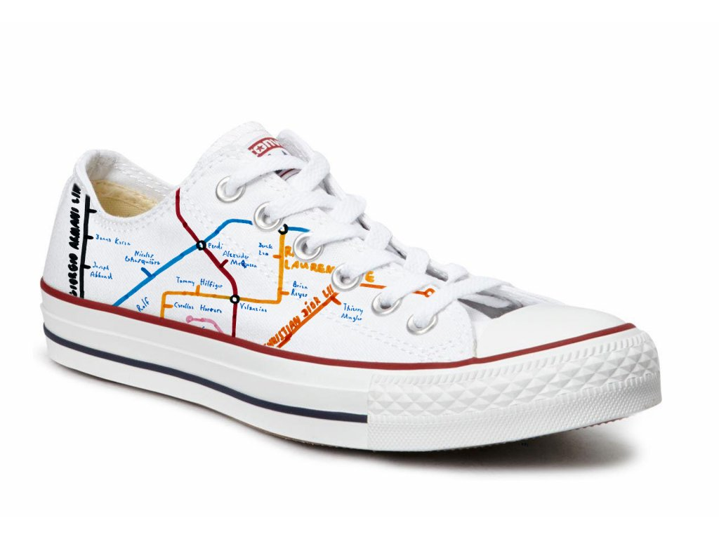 CONVERSE limited FASHION DESIGNERS edition by MAAPPI