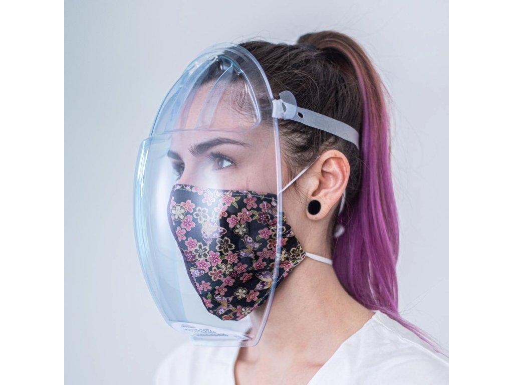 Ochranný štít masq - balení 10 kusů