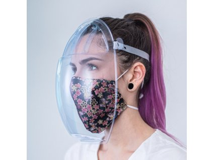 Ochranný štít masq - balení 100 kusů