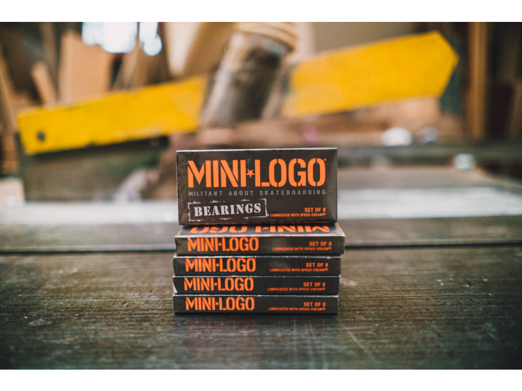 Ložiska Minilogo + spacery