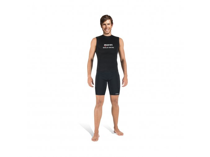 mares diving wetsuits gold skin man