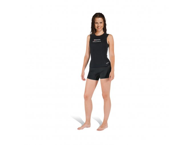 mares diving wetsuits gold skin lady
