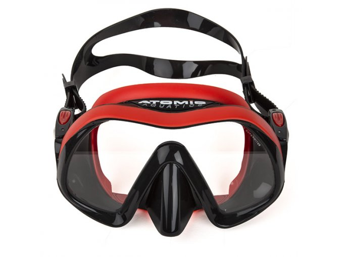 ATOMIC AQUATICS VENOM FRAMELESS RED