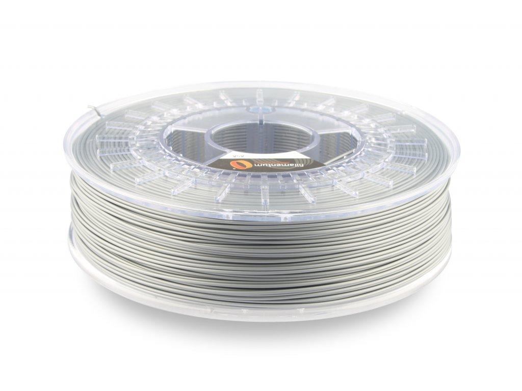 ASA Extrafill Metallic grey 1,75 mm 3D filament 750g Fillamentum