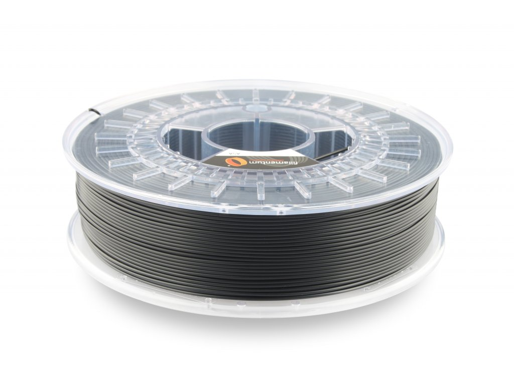 ASA Extrafill Traffic black 1,75 mm 3D filament 750g Fillamentum