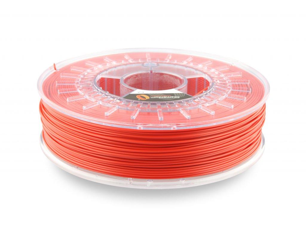ASA Extrafill Traffic red 1,75 mm 3D filament 750g Fillamentum