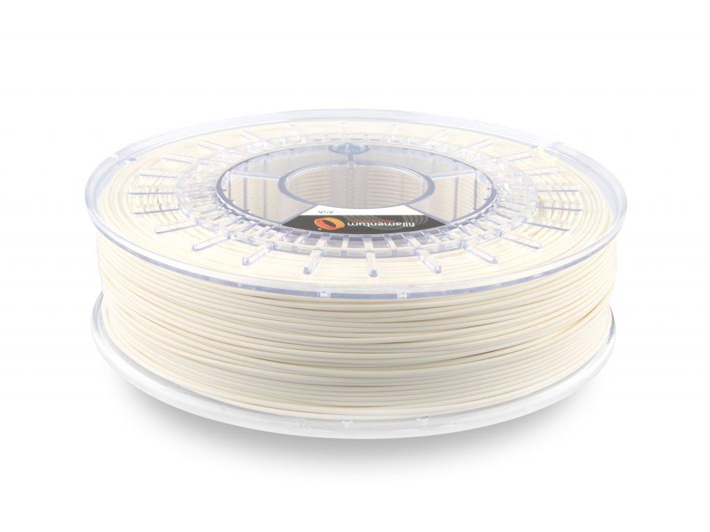 ASA Extrafill Traffic white 1,75 mm 3D filament 750g Fillamentum