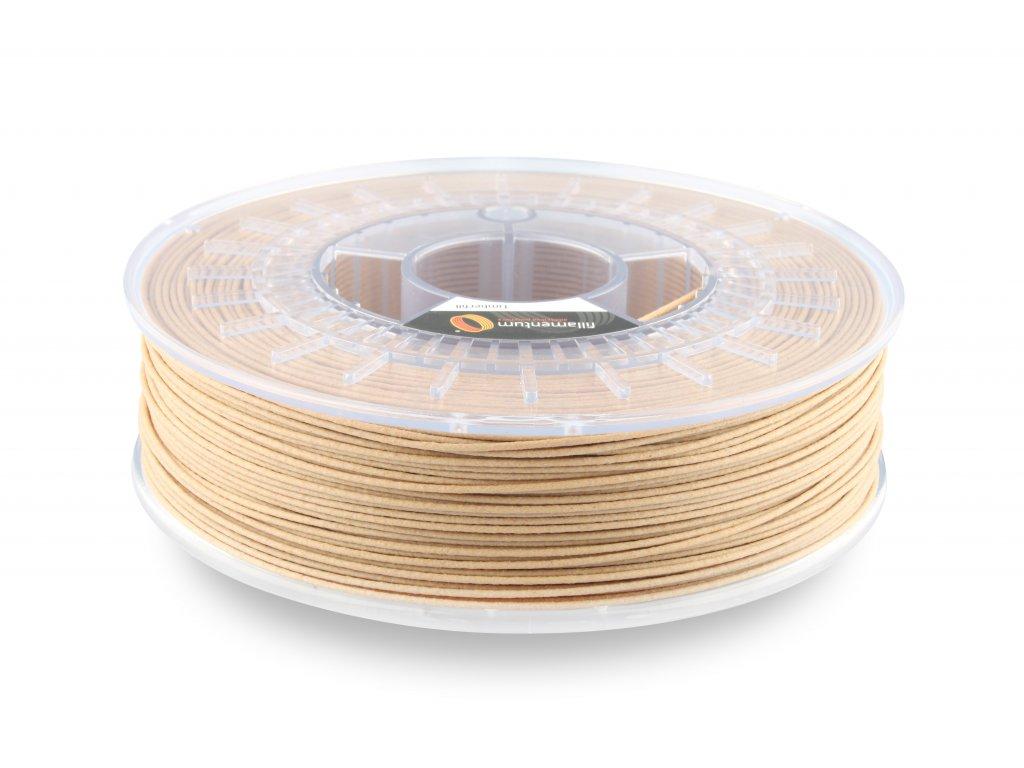 Wood filament Timberfill 1,75mm light tone 750g Fillamentum