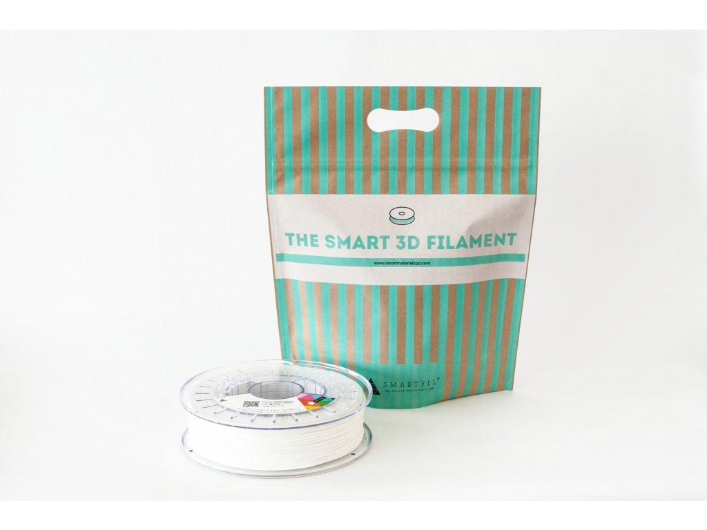 FLEX filament bílý ivory 1,75 mm Smartfil Cívka: 0,75 kg