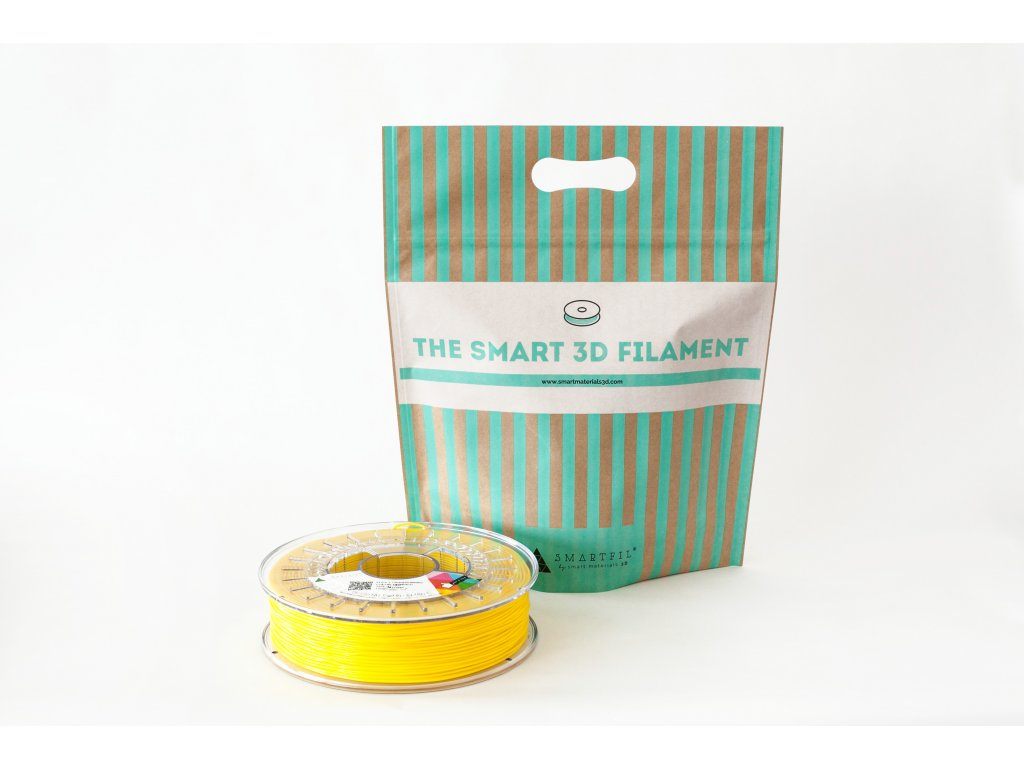 FLEX filament tabákově žlutý 1,75 mm Smartfil Cívka: 0,33 kg