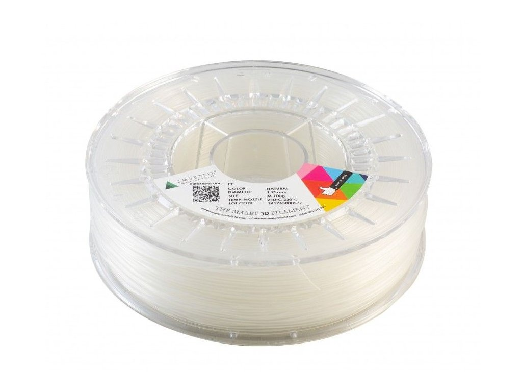PP filament přírodní 1,75 mm Smartfil 700 g
