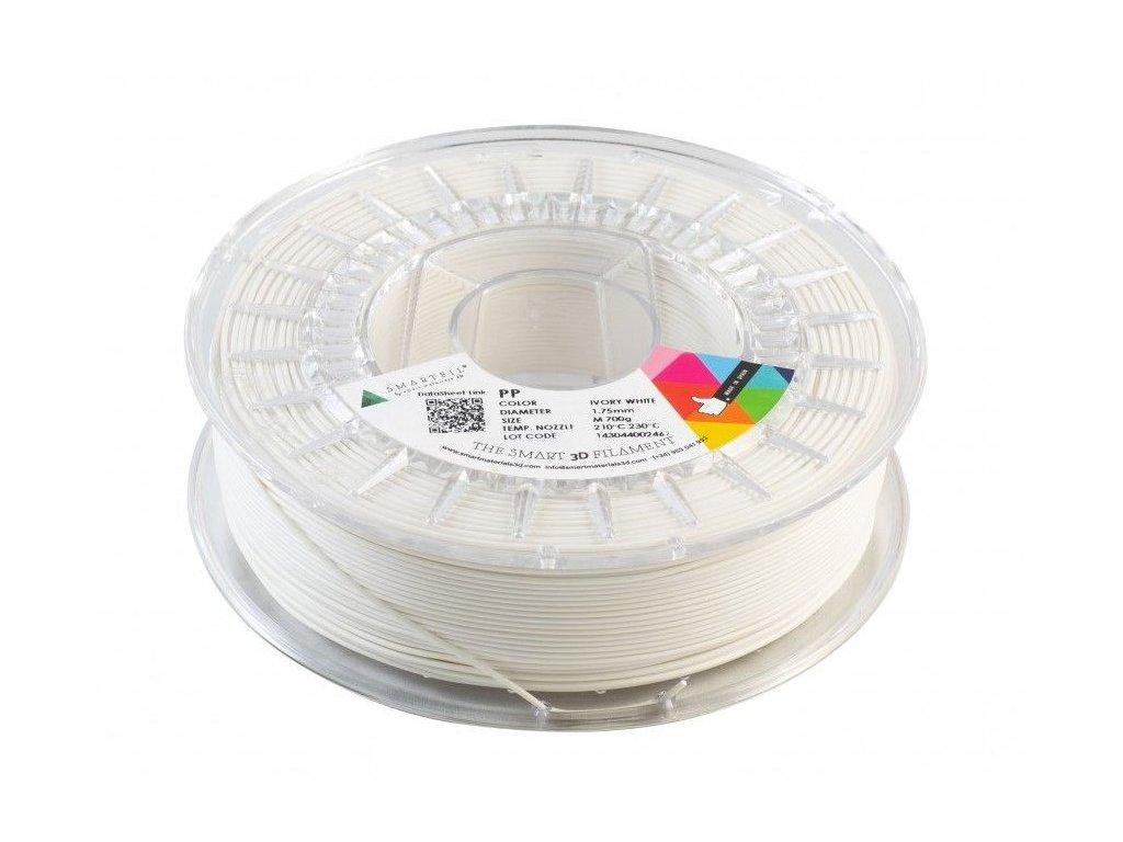 PP filament bílý ivory 1,75 mm Smartfil 700 g