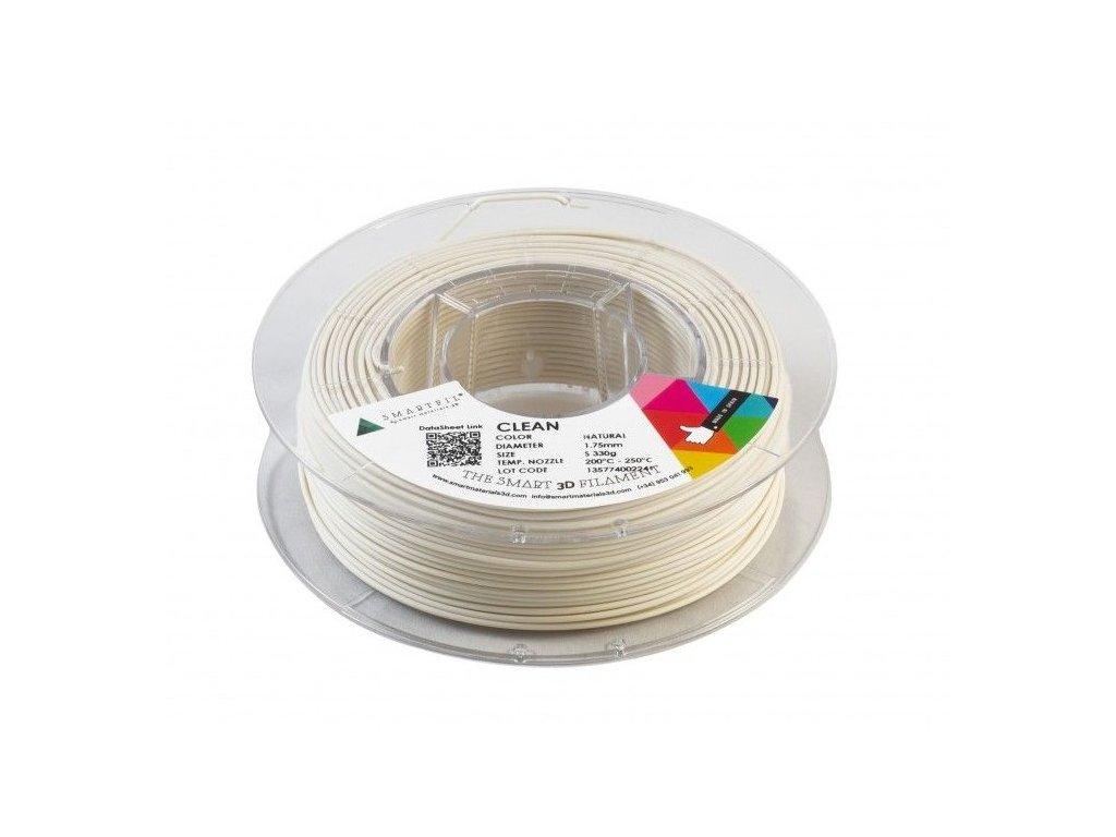 CLEAN filament přírodní 1,75 mm Smartfil 330 g