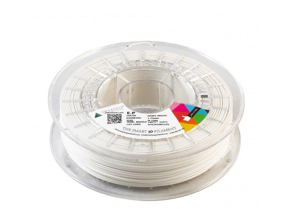 E.P. filament bílý ivory 1,75 mm Smartfil 750 g