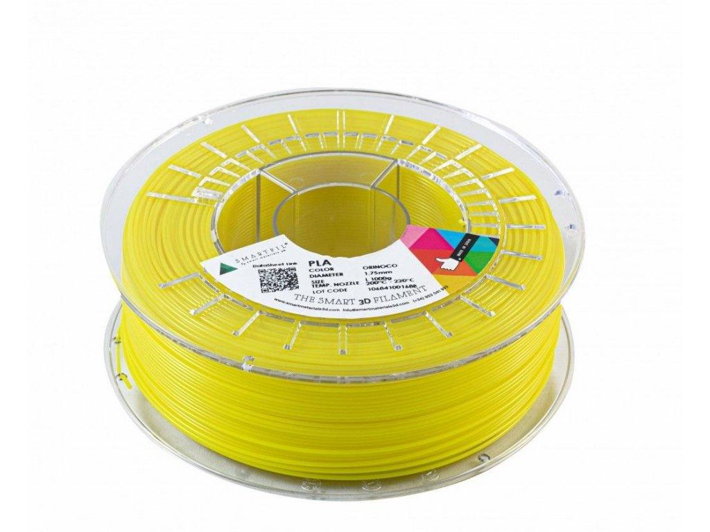 PLA filament tabákově žlutý 1,75 mm Smartfil 1kg
