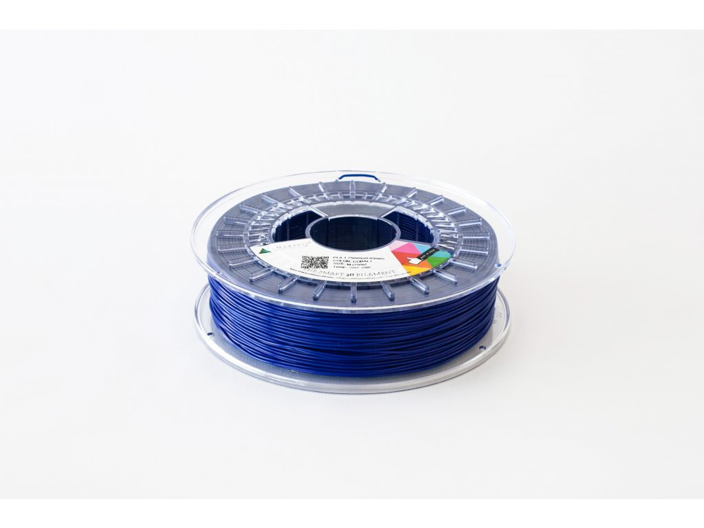 PLA filament kobaltově modrý 1,75 mm Smartfil 1kg