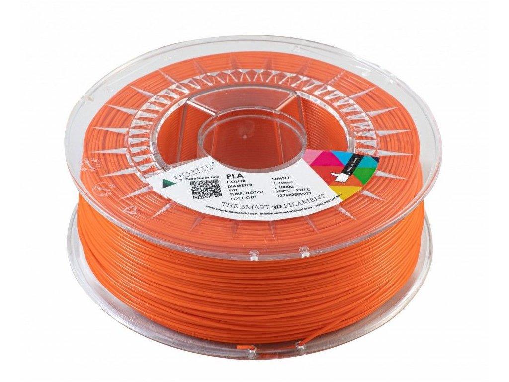 PLA filament oranžový Sunset 1,75 mm Smartfil 1kg