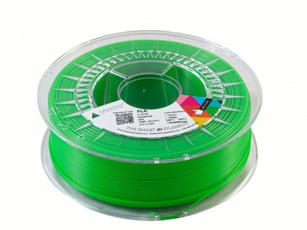 PLA filament zelený Chlorofyl 1,75 mm Smartfil 1kg
