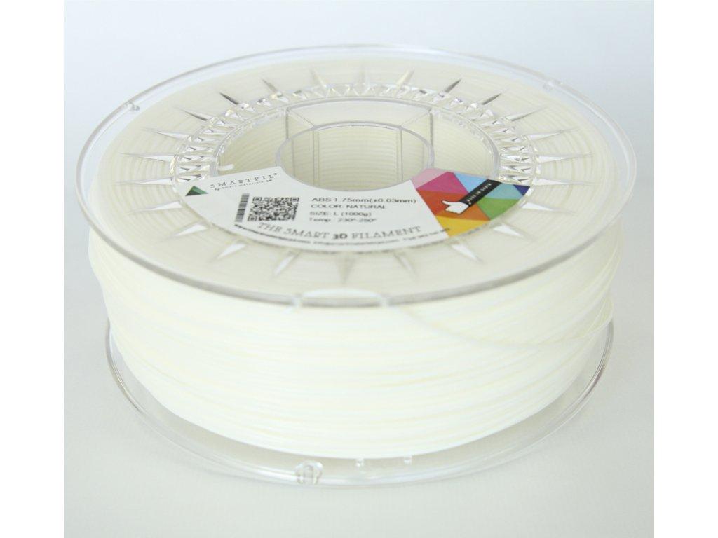 ABS filament přírodní 1,75 mm Smartfil 1kg