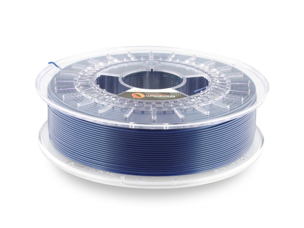 PLA filament Extrafill Pearl Night Blue 1,75mm 750g Fillamentum