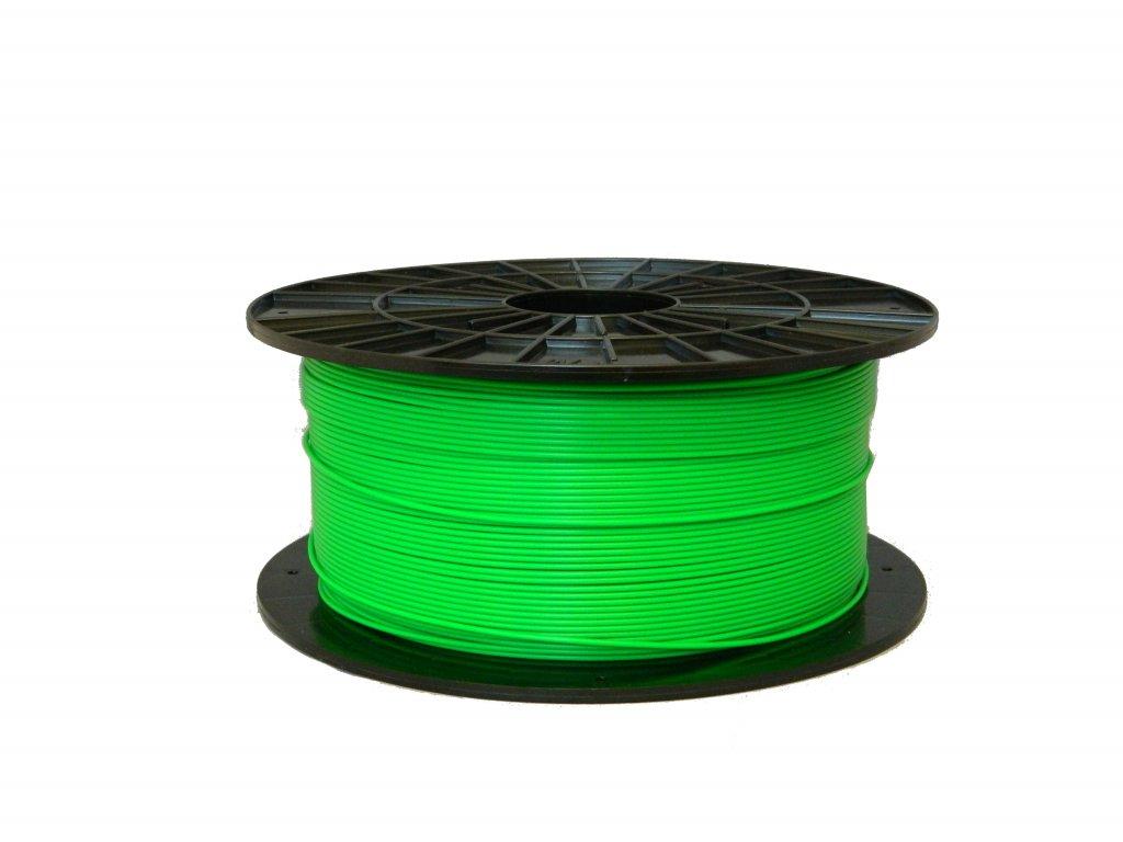 Filament-PM PLA tisková struna fluorescenční zelená 1,75 mm 1 kg Filament PM