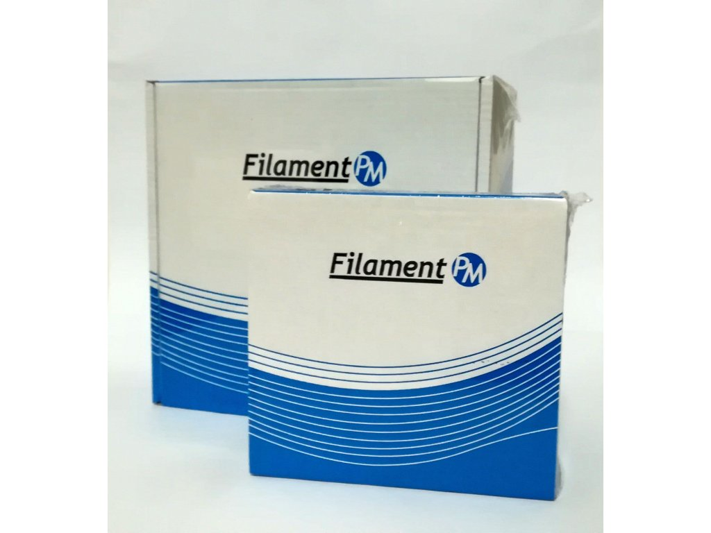 Filament-PM PET-G tisková struna bílá 1,75 mm 2 kg Filament PM