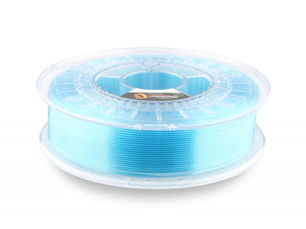 PLA Crystal Clear Iceland Blue 1,75mm 750g Fillamentum