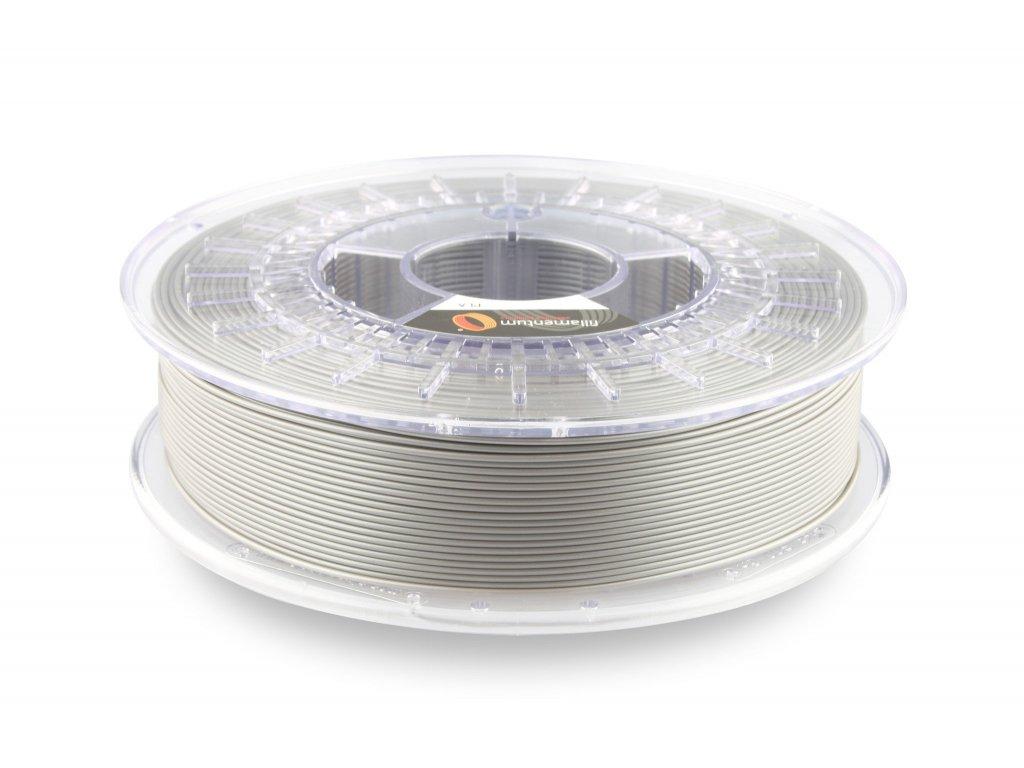 PLA filament Extrafill Metallic Grey 1,75mm 750g Fillamentum