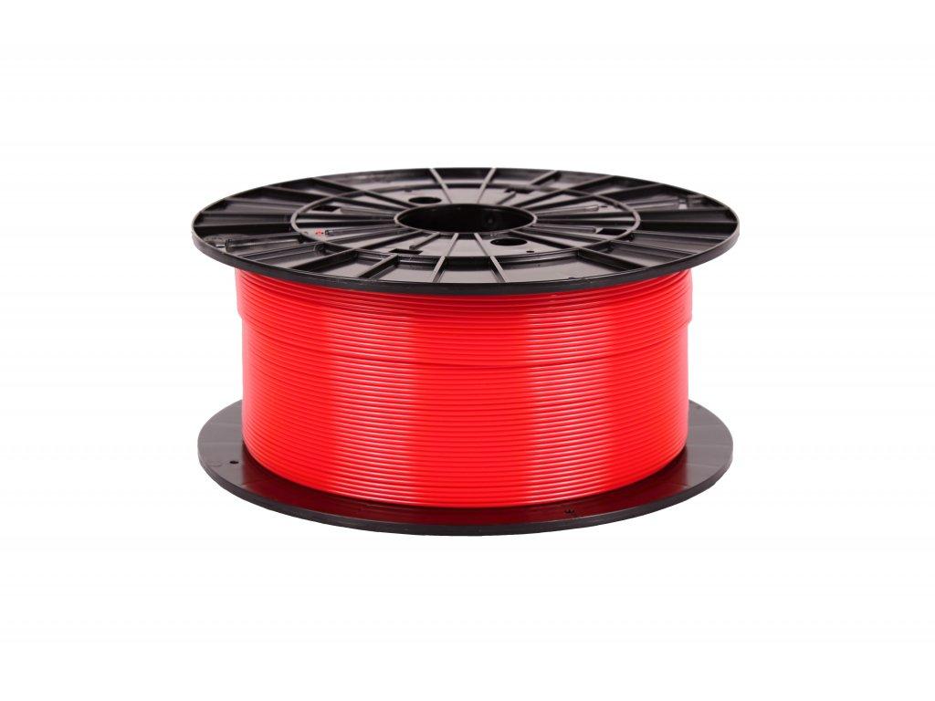 Filament-PM PET-G tisková struna červená 1,75 mm 1 kg Filament PM