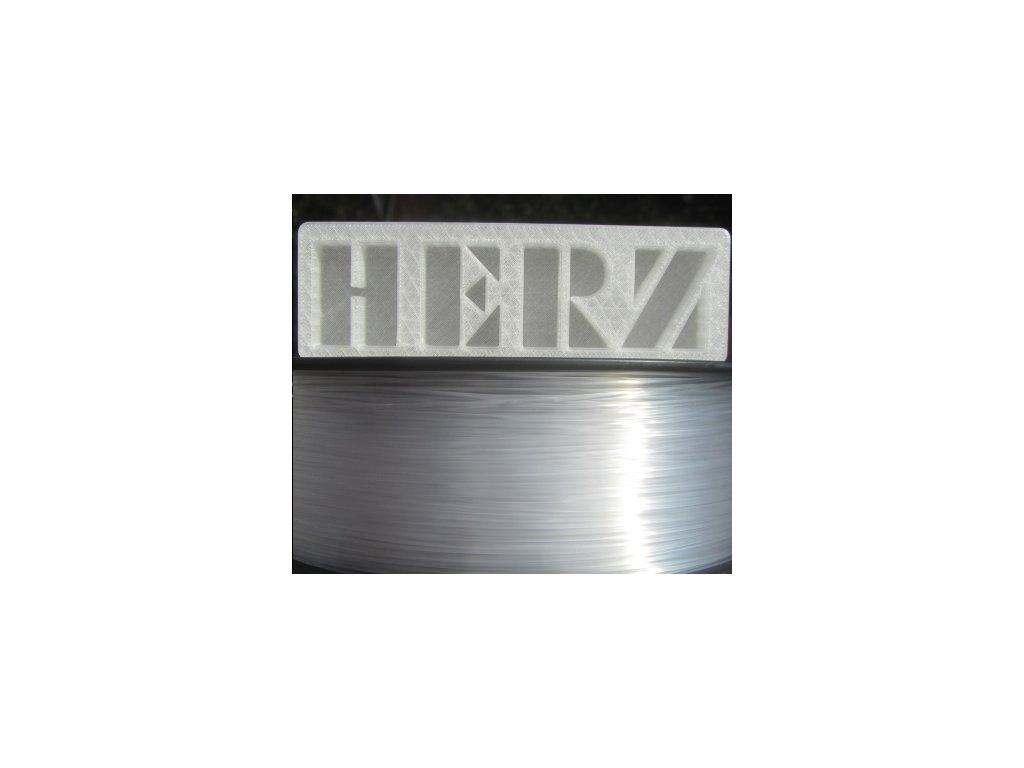 PMMA filament transparentní 1,75mm Herz 1 kg