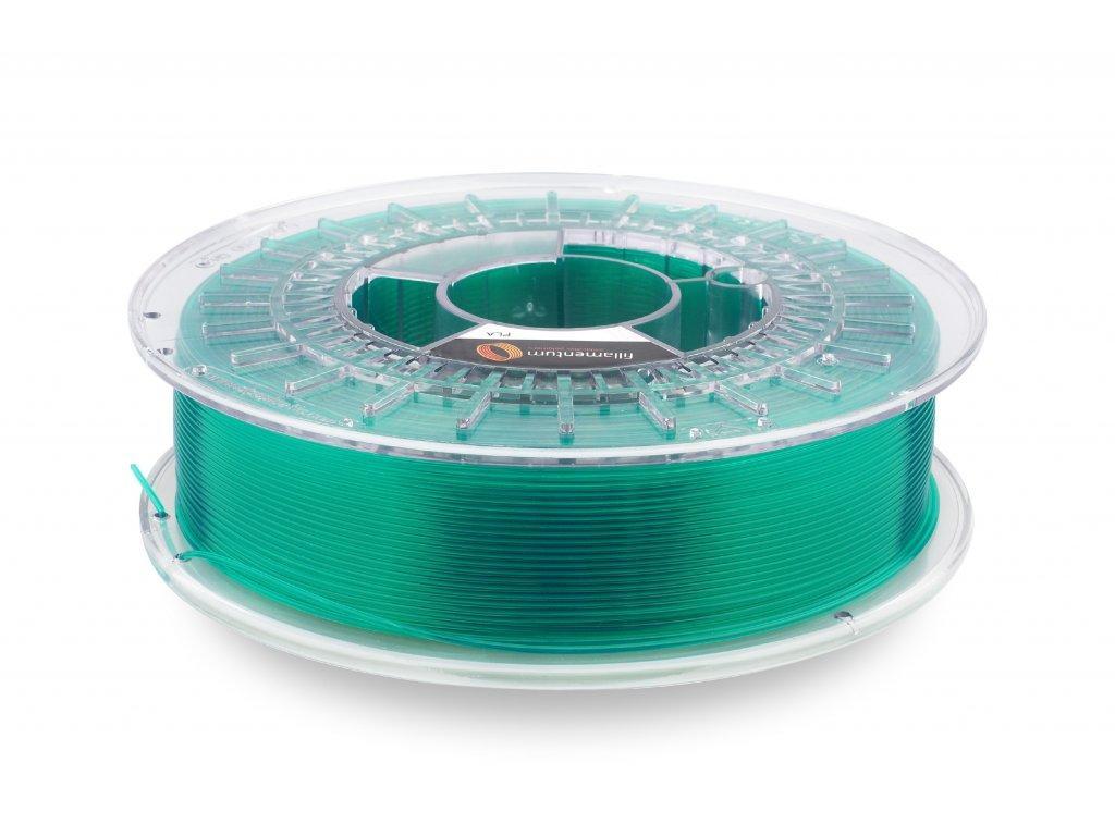 PLA Crystal Clear Smaragd Green 1,75mm 750g Fillamentum