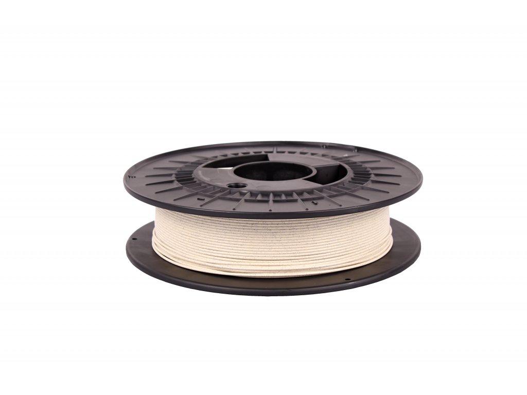 Filament-PM PLA tisková struna mramor světlý 1,75 mm 0,5kg Filament PM